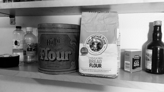 picture of bread flour package